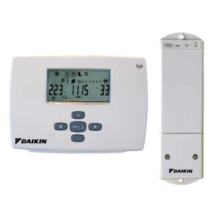 Thermostat daikin altherma sans fil radio ekrtr energieclim - Thermostat sans fil chaudiere ...