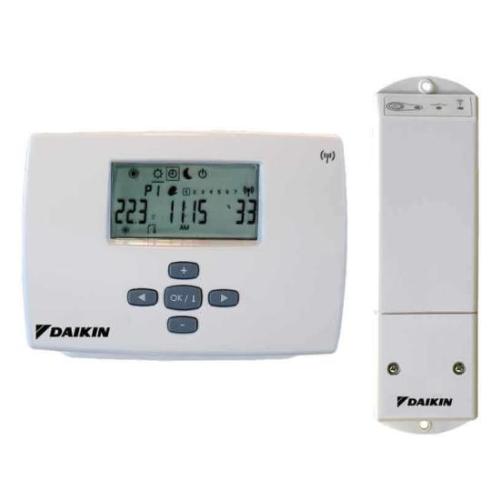 Thermostat Daikin Altherma sans fil radio EKRTR