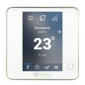 Thermostat centralisé Airzone blueface filaire blanc