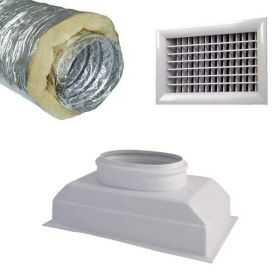 Kit prêt à poser pour climatiseur gainable