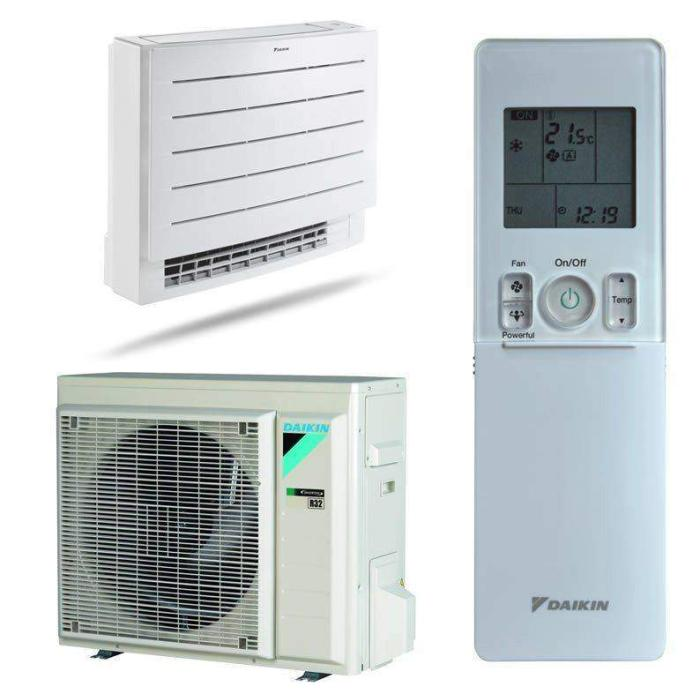 Daikin double-flux Perfera FVXM25A + RXTP25N8 optimised heating